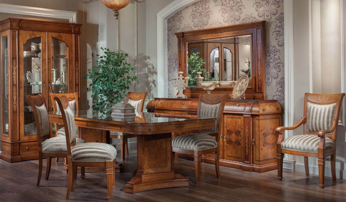 Classic dining rooms verinno group for Dining room 95 hai ba trung